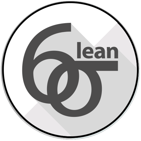 lean six sigma training white belt logo